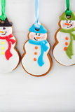 Christmas cookies on a white background Stock Photography