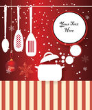 Christmas cooking Royalty Free Stock Images