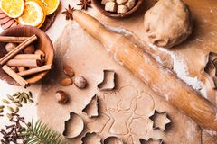 Christmas cooking Stock Photos