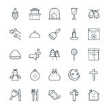 Christmas Cool Vector Icons 3 Royalty Free Stock Image