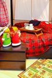 Christmas corner Royalty Free Stock Photo
