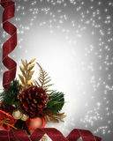 Christmas Corner design Royalty Free Stock Photography