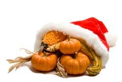 Christmas Cornucopia Stock Photography