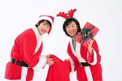 Christmas Costume stock photos