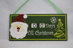 Christmas Countdown Royalty Free Stock Images