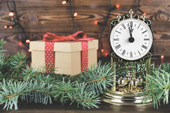 Christmas countdown Stock Image