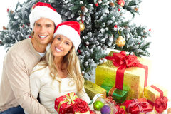 Free Christmas Couple Royalty Free Stock Photo - 11096305