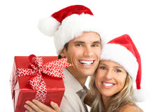 Free Christmas Couple Royalty Free Stock Photo - 11096385