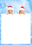 Christmas couple Royalty Free Stock Photos