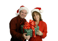 Christmas Couple royalty free stock images