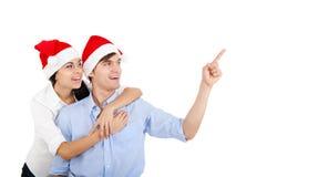 Christmas couple Royalty Free Stock Photo