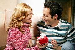 Free Christmas Couple Stock Images - 2951084
