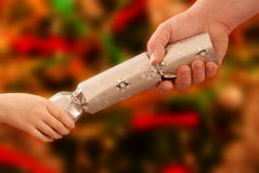 Christmas Cracker Stock Image