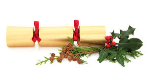 Christmas Cracker Royalty Free Stock Photography