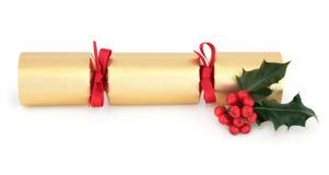Christmas Cracker Royalty Free Stock Image