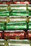 Christmas crackers Stock Photo