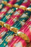 Christmas crackers Royalty Free Stock Image