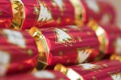 Christmas crackers Stock Photography