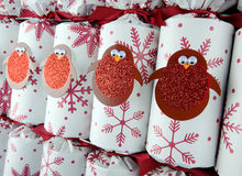 Christmas crackers Royalty Free Stock Photo