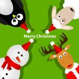 Christmas crad Royalty Free Stock Image