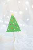 Christmas Craft Decoration Stock Photo