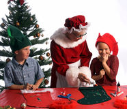 Christmas Crafts Royalty Free Stock Photography