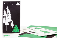 Christmas crafts Royalty Free Stock Photo
