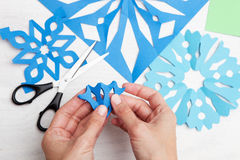 Christmas crafts Stock Photography