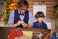 Christmas craftsmen Royalty Free Stock Photography