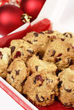 Christmas cranberry cookies Royalty Free Stock Photography