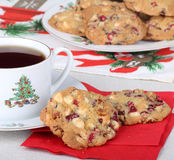 Christmas Cranberry Cookies Stock Images