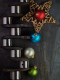 Christmas crankshaft Royalty Free Stock Photos