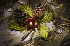 Christmas creation still life Royalty Free Stock Photography