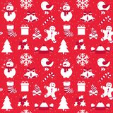 Christmas creative pattern vector illustration