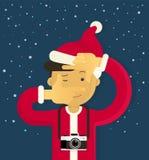 Christmas creative photographer Royalty Free Stock Photo