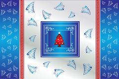 Christmas creative vector background Royalty Free Stock Images