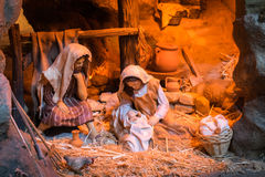 Christmas creche Royalty Free Stock Photography
