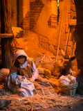 Christmas creche Stock Photography