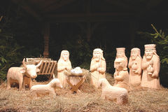 Christmas crib Royalty Free Stock Images