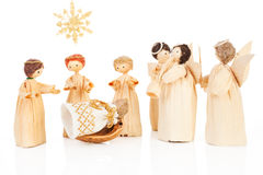 Christmas crib. Stock Photos