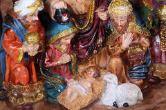 Christmas Crib Royalty Free Stock Photos