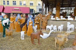 Christmas crib Stock Photography