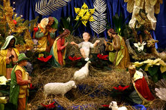 Christmas Crib Royalty Free Stock Photography