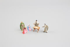 Christmas Crib. Adoration of The Three Wise Men. Baby Jesus. The Christmas Crib. Adoration of The Three Wise Men. Baby Jesus Stock Image