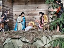 Christmas crib. Royalty Free Stock Photos