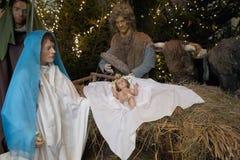 Christmas crib Stock Photography