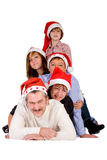 Christmas crowd Royalty Free Stock Photography