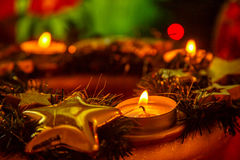Christmas crown. Royalty Free Stock Images