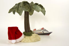 Christmas Cruise Concept Stock Photos