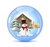 Christmas Crystal Ball Royalty Free Stock Photo